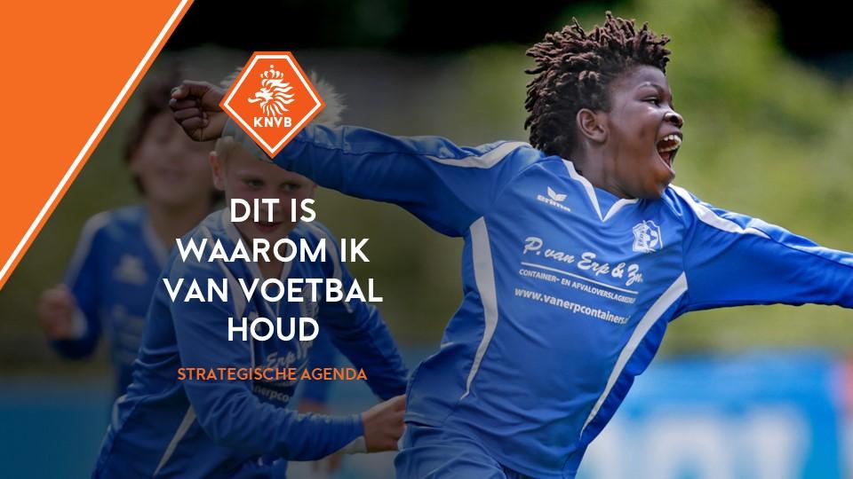 Voorbeeld PowerPoint slide KNVB